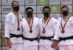 Milli judocu Vedat Albayraktan Macaristanda altın madalya