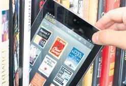 Kütüphanelerde e-kitap artışı