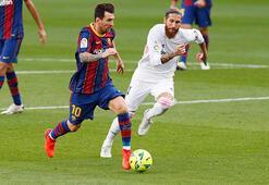Son dakika - Sergio Ramos, El Clasico'da güne damga vurdu