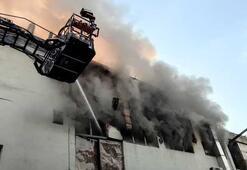 Son dakika... Kağıthanede yangın Çok sayıda ekip sevk edildi