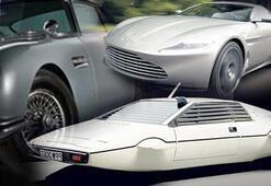 Bond'un 50 yılına damga vuran otomobiller Satmıyor...