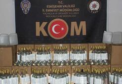 Eskişehir'de 979 litre kaçak alkol ele geçirildi