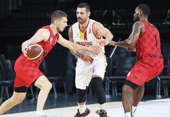 Galatasaray-Gaziantep Basketbol: 86-90