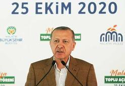 Cumhurbaşkanı Erdoğandan toplu açılış töreninde önemli açıklamalar