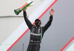 Son dakika - Formula 1de Lewis Hamiltondan tarihi rekor Michael Schumacheri geçti...