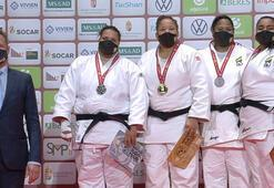 Milli judocu Kayra Sayitten altın madalya