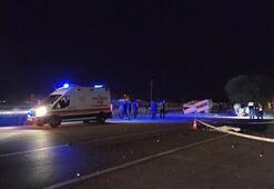 Konyada feci kaza 1 kişi hayatını kaybetti