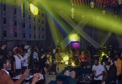 Esenyurtta skandal görüntülerin ortaya çıktığı gece kulübü mühürlendi