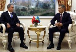 Son dakika Bakan Akar Kazakistanda