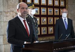 KKTC Cumhurbaşkanı Ersin Tatar Anıtkabiri ziyaret etti