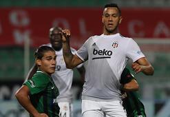 Son dakika - Beşiktaşta Josef de Souza kırmızı kart gördü