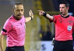 Devler Ligi'nde çift maç gururu Cüneyt Çakır ve Ali Palabıyık düdük çalacak...