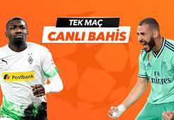 MGladbach - Real Madrid maçı canlı bahis heyecanı Misli.comda