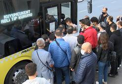 """Koronabüsler"" virüs saçıyor İstanbulda şok manzara"