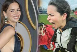 Emilia Clarke: Kim demiş sadece ejderhalarla uçabileceğimi