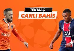 Başakşehir - PSG karşılaşmasında Canlı Bahis heyecanı Misli.comda
