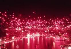 Hajduk Split taraftar grubu 70. doğum gününü kutladı