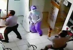 Film gibi soygun girişimi Suç ortağı şirketin güvenlik görevlisi çıktı