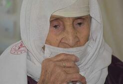 120 yaşındaki Menica nine koronavirüsü yendi