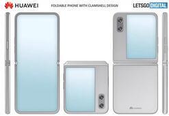 Huawei'nin bir sonraki katlanabilir telefonunun şekli Galaxy Z Flip'e benzeyebilir