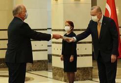 Büyükelçiler, Cumhurbaşkanı Erdoğana güven mektubu sundu