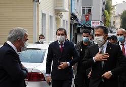 İstanbul Valisi Yerlikaya, Kariye Camisinde incelemede bulundu
