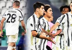 Juventus - Barcelona maçında tarihe geçen olay Merih Demiral...