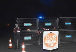 Kütahyada Koronavirüs karantinası Giriş çıkışlar kapatıldı
