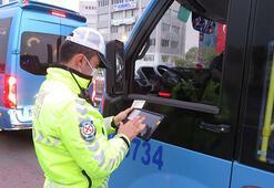 Toplu taşıma araçlarında koronavirüs denetimi