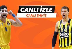 Maccabi Tel Aviv - Fenerbahçe Beko karşılaşmasında Canlı Bahis heyecanı Misli.comda