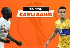 Sivasspor - Maccabi Tel Aviv karşılaşmasında Canlı Bahis heyecanı Misli.comda