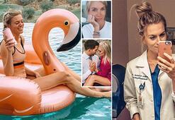 Bikinili pozlar başına iş açtı: Doktor olmak için fazla güzelsin