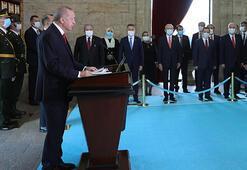 Cumhurbaşkanı Erdoğandan Cumhuriyetin 97. yılında dikkat çeken mesaj