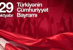 Azerbaycan first ladysi Mehriban Aliyeva'dan 29 Ekim paylaşımı