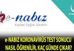 e-Nabız koronavirüs testi sonucu öğrenme sayfası: e-Nabız covid 19 test sonucu nasıl öğrenilir, kaç günde çıkıyor