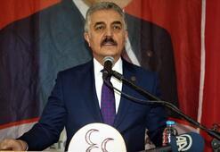 MHPden Ahmet Davutoğluna tepki