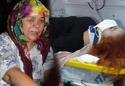 Eşinin çarptığı kadını hareketiz görünce sinir krizi geçirdi