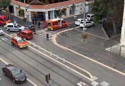 Son dakika... Fransada bıçaklı saldırı