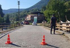 İlçenin en büyük köyünde ikinci karantina Giriş çıkışlar kapatıldı