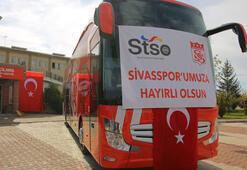 Sivasspora yeni otobüsü teslim edildi