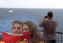 Kınalıada korveti, Antalyada