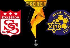 CANLI   Sivasspor - Maccabi Tel Aviv