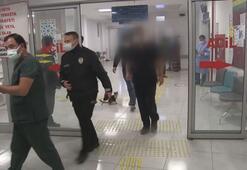 Maske uyarısı yapan sağlık çalışanını darp eden kişi gözaltına alındı