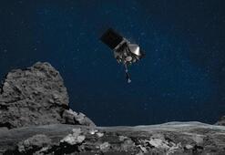 NASAnın uzay aracı gök taşı örneklerini kapsüle yerleştirdi