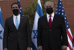 ABD Savunma Bakanı Esper İsrailde