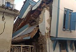 Son dakika: İzmir depremi Samosu da yıktı