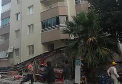 11 katlı binanın ilk 3 katı çöktü, markette 20 kişinin mahsur kaldığı iddia edildi