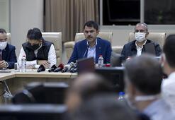 Bakanlar İzmirde son durumu aktardı: 9 binada çalışmalar sürüyor