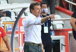 Antalyaspora teknik direktör dayanmıyor