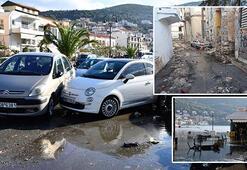 Depremin vurduğu Yunan adasında son durum